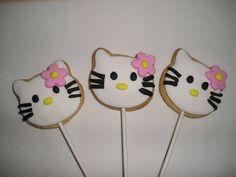 Hello Kitty Cookie Lollipops