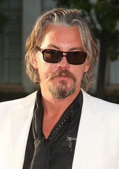 Sons of Anarchy - Chibs (Tommy Flanagan)....One good lookin hunk and I could listen to him talk all day......