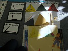 constructive triangle angles- make these more interesting!
