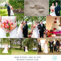 Belmont Country Club  Spring Wedding