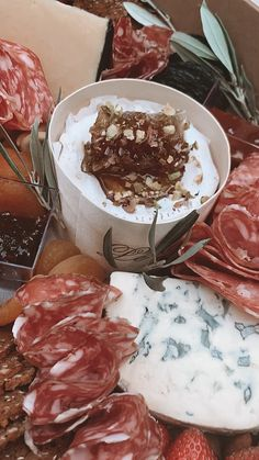 Double trouble with two large grazing boxes full of delicious gourmet cheese and accompaniments. who would you share this with? Snack Platter, Party Food Platters, Cheese Platters, Cheese Boxes, Charcuterie Recipes, Charcuterie And Cheese Board, Appetizers For Party, Appetizer Recipes, Catering Food Displays