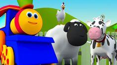 바브, 기차 | 밥은 아이들을위한 농장갔다 | 한국어에서 밥 모험 #bobthetrain #animals #farmsong #kidssong #childrensong #babysong #education #entertainment #parenting