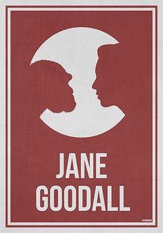 Jane Goodall Poster on www.amightygirl.com
