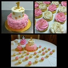 Twinkle twinkle little star 1st birthday cake.#Cake #birthdaycake #birthday #pink #gold #twinkletwinklelittlestar #instagood #cakesofinstagram #cakeoftheday