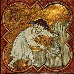 Calendrier-martyrologue de l'abbaye de Saint-Germain-des-Prés, XIIIe siècleParis, BnF, département des Manuscrits