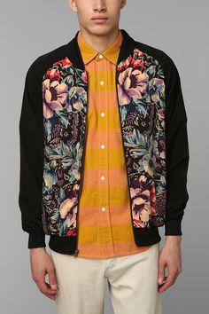 Men's Fashion Instagram Page | Floral bomber jacket, Floral and ...