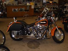 Harley Davidson Fatboy - my future husband can ride...but it cant be his WHOLE life...like it is for my dad.