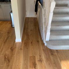 Staki BP Oak Lacquered wood flooring installation
