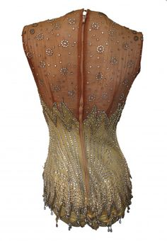 Britney Spears Circus Showgirl Bodysuit - This vintage garment has been used previously by assorted celebrities in numerous productions