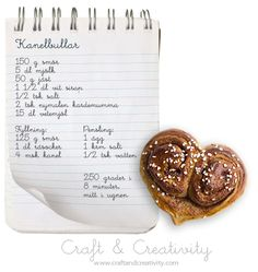 Kanelbullens dag – Cinnamon Bun Day | Craft & Creativity – Pyssel & DIY
