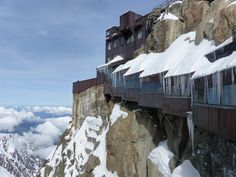 Aiguille du Midi, Chamonix, France — by JessDems. L'aiguille du Midi se situe…