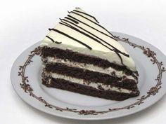 Mascarpone krémové rezy • Recept | svetvomne.sk A Food, Food And Drink, Nutella, Tiramisu, Dessert Recipes, Chocolate, Baking, Eat, Breakfast