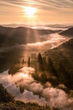 Sunrise, Germany, by Christopher Jenal, on 500px.
