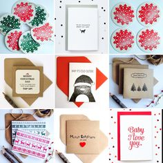 25% OFF everything letterpress with code FESTIVE25 at checkout in my Etsy shop #letterpress #christmas #etsy