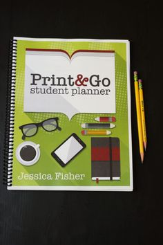 The Print & Go Student Planner to Help Your Child Build Good Habits Homeschool Supplies, Student Planner, College Years, Supply List, Good Habits, Working With Children, Kids And Parenting, Cool Things To Make, How To Introduce Yourself