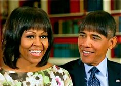 """Obama at WH Correspondent's dinner...just shucking & jiving, and joking about being a Socialist and """"looking like the Devil.""""  His joke about Jay Z and Beyonce vacationing in Cuba went over real well.  His adoring 'journalist' lap dogs are drooling and eating it all up.  I'd love to know what Newt Gingrich is whispering in the ear of the guy sitting next to him!! 04-27-2013"""
