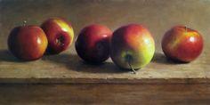 MICHAEL NAPLES: Row of Apples