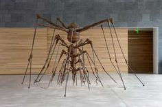 Louise Bourgeois, The nest, 1994, steel.
