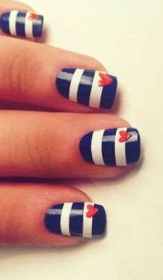 Super cute nails!