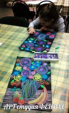 Scroll through photos for more ideas. school art, art plastique и arts visu Art Lessons For Kids, Art Lessons Elementary, Art For Kids, Art Education Lessons, Middle School Art, Art School, School Ideas, 2nd Grade Art, Pastel Art