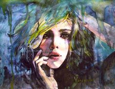 Feeling the loss - 50 Mind Blowing Watercolor Paintings  <3 <3