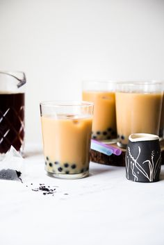 Bubble Tea Recipe - a simple tutorial on how to make bubble tea at home!