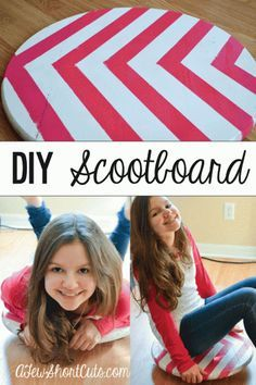 76 Crafts To Make and Sell - Easy DIY Ideas for Cheap Things To Sell on Etsy, Online and for Craft Fairs. Make Money with These Homemade Crafts for Teens, Kids, Christmas, Summer, Mother's Day Gifts.   DIY Scoot Board   diyjoy.com/crafts-to-make-and-sell