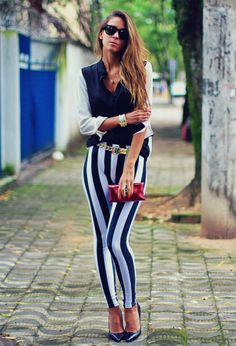 34 Popular Black And White Street Style Combinations  3 #TARTCollections