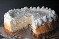 Banana Cream Pie Cheesecake will knock your socks off! Vanilla cheesecake topped with a thick layer of banana cream, fresh bananas and whipped cream.