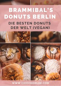 Brammibal's Donuts Berlin – die besten Donuts der Welt (VEGAN!) Donuts, Reisen In Europa, Vegan, Vegetables, Food, Yummy Food, Easy Meals, World, Travel Inspiration