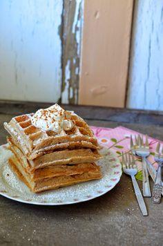 Ninas kleiner Food-Blog: Apfel-Zimt-Waffeln