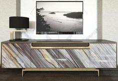 9 Inspiring Mid Century Modern Cabinet and Sideboard Designs Modern Sideboard, Sideboard Cabinet, Cabinet Furniture, Table Furniture, Luxury Furniture, Home Furniture, Furniture Design, European Home Decor, Contemporary Interior Design
