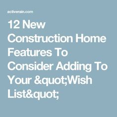 12 Home Design Improvement ideas you should consider when building your new home. These simple gems will return huge dividends and may increase your ho. Home Building Tips, Building A House, Build House, Building Ideas, My House Plans, Beach House Plans, Craftsman Style Kitchens, New Home Wishes, Montana Homes