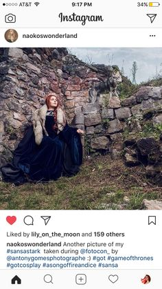 Game Of Thrones Cosplay, Sansa Stark, Tulle, Lily, Skirts, Pictures, Instagram, Fashion, Photos