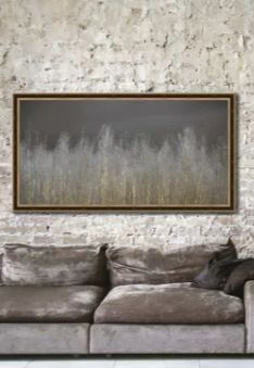 Silver Forest Nature Wall Art Decor Modern nature wall decor like this brings your drab walls back to life. Elegant and sophisticated our silver forest nature print looks marvelous for living rooms, bedrooms and your office. Silver Wall Art, Copper Wall Art, Abstract Metal Wall Art, Tree Wall Art, Wall Art Decor, Framed Canvas, Canvas Wall Art, Metal Wall Sculpture, Nature Decor
