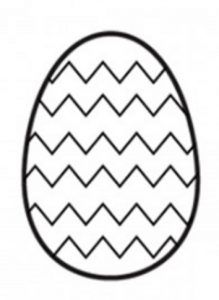 Happy Easter Egg Coloring Pages For Preschool This Section Has A Lot Of Kindergarten And Kids Free Printable