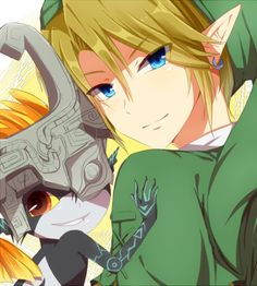 Link and Midna, The Legend of Zelda: Twilight Princess