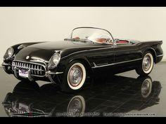1954 Corvette Roadster Black