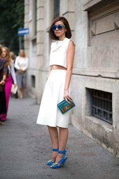 Ciao Bellas! Milan Street Style (Instagram: @zeanvo)