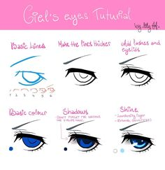 TUTORIAL: Ciel Phantomhive's Eyes by Lily-Draws.deviantart.com