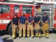 Thank your fire department!  Christmas 365: Day 50 - Livin in San Diego Livininsd.com #payitforward, #randomactsofkindness
