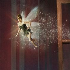 Tina Fey as Tinker Bell in Peter Pan, Annie Leibovitz/Disney