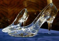 Cinderella's glass slippers ;)!!!