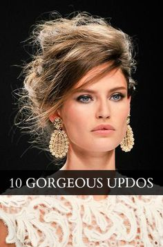 10 amazing messy updos #hair #beauty #hairstyle #updo