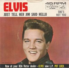 1962 SHE'S NOT YOU - ELVIS PRESLEY #RocknRoll