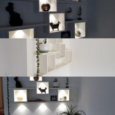 Wandgestaltung Floating Shelves, Home Decor, Wall Design, Wall Mounted Shelves, Interior Design, Wall Shelves, Home Interior Design, Home Decoration, Decoration Home
