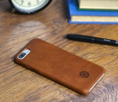 Brown Leather iPhone 7 Plus Case