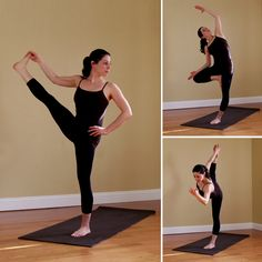 I have such terrible balance. And I've been wanting to give yoga a try. Yoga Sequence to Improve Balance