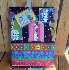 Cat and Daisy Composition Notebook Cover by northwildwoodgardens, $11.95