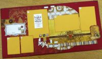 Best Layout Kits on the web!  Bo Bunny Silver and Gold - Detailed item view - Scrapbook Super Station -- Boutique
